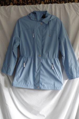 Regenjas lichtblauw Polyester
