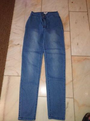 L' alive verbe L.B.C. Jeans cigarette bleu clair-bleu