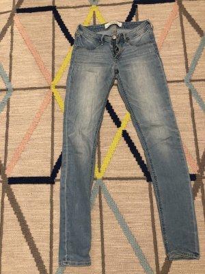 Abercrombie & Fitch Jeans skinny azzurro