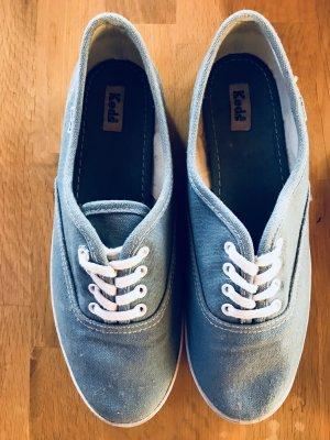 Hellblaue Sneaker Stoffschuhe von Keds