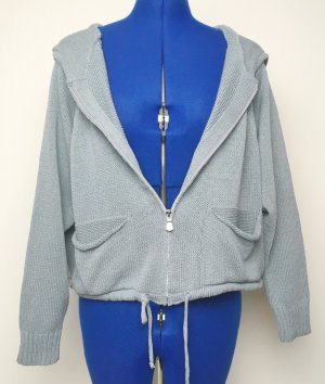 Hellblaue Strickjacke Gr. 40
