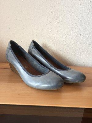 Hellblaue Tamaris Schuhe in Größe 40