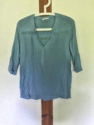 Hellblaue Tunika-Bluse von Promod