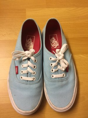 Hellblaue Vans Authentic