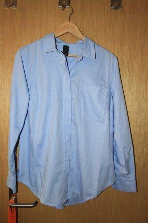 Hellblaue weite Hemdbluse von Best Connections
