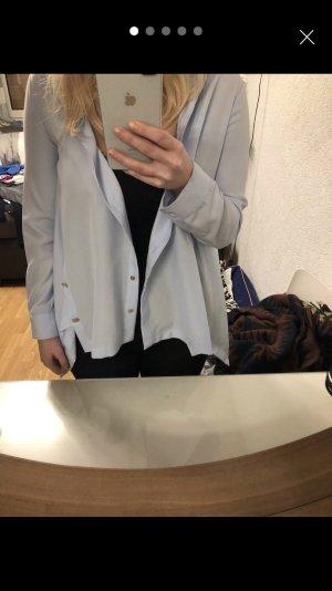 Hellblaue Zara Bluse, M