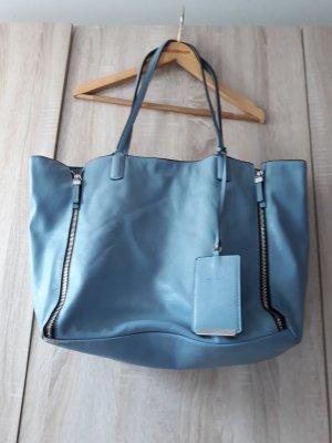 Hellblaue Zara Handtasche