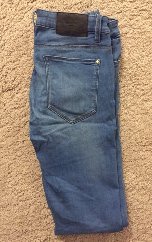 Zara Trafaluc Tube jeans azuur
