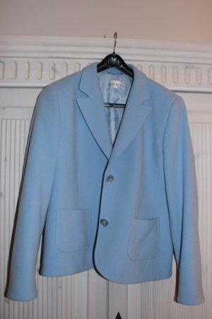Frank Eden Wool Blazer azure new wool