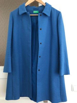 Benetton Korte Jas korenblauw