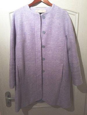 Hellblauer Mantel von Zara