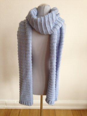 Hellblauer Oversize Schal Zara