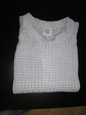 Hellblauer Pullover NoaNoa Gr. M  - Baumwolle - Noa Noa