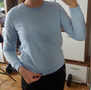 Hellblauer Pullover sweatshirt