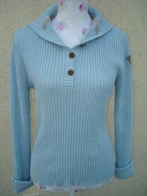 Hellblauer Pullover von Hilfiger Sport Gr. 42