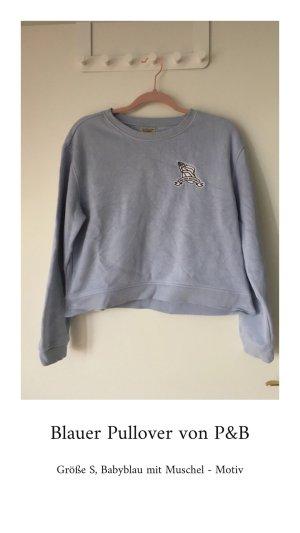 Pull & Bear Long Sweater azure