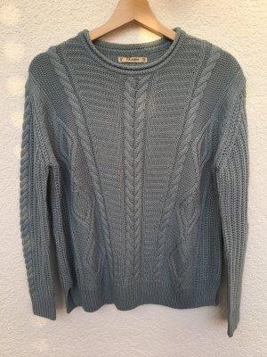 hellblauer pullover von pull&bear
