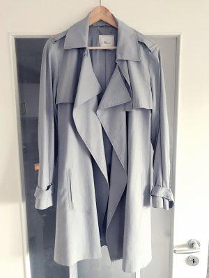 Hellblauer Sommer Trenchcoat Pastell, MANGO sehr elegant, SIZE: XL