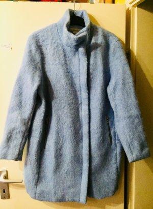 Hellblauer Wollmantel von H&M
