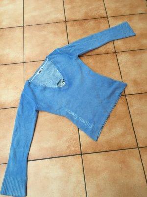 Hellblauer Wollpullover von Guess
