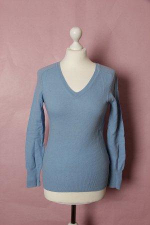 Hellblauer Wollpullover von H&M NEU