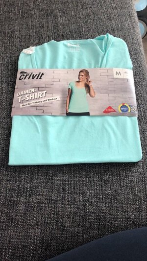 Esmara Sports Shirt light blue cotton