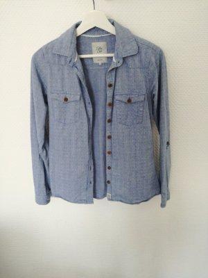 hellblaues Hemd für Mädchen