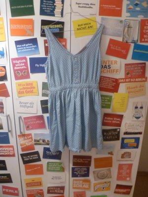 Hellblaues Jeanskleid von Primark, 36, S, Denim, Sterne, Sommer, Blogger