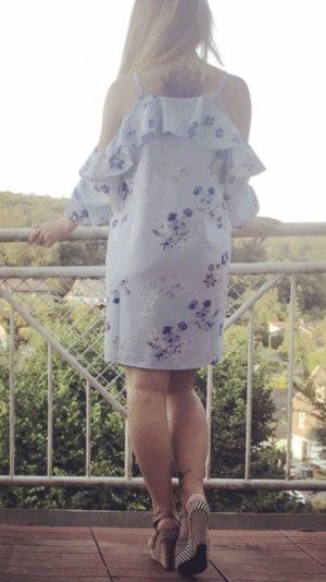 Gina Tricot Blousejurk azuur