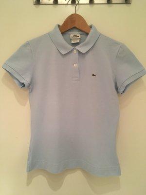 Hellblaues Polo-Shirt von Lacoste in Größe 38