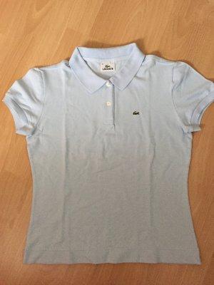 Hellblaues Polo Shirt von Lacoste in Größe 42