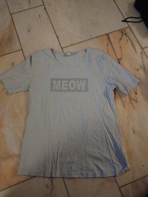 Hellblaues Printshirt