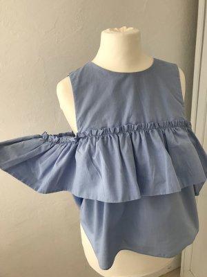 Zara Blusa azzurro