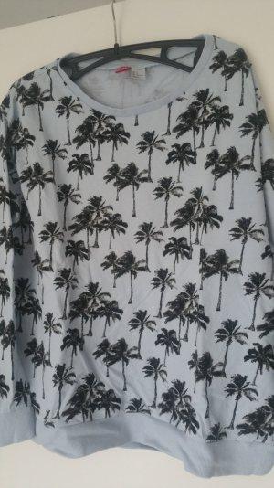 Hellblaues Sonmersweatshirt H&M Größe S