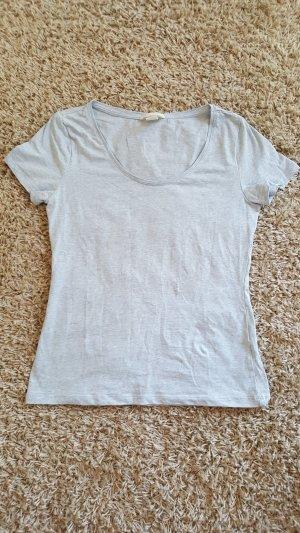 Hellblaues T-Shirt, Größe M