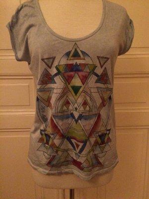 Hellblaues T-Shirt mit Print von Pepe Jeans London