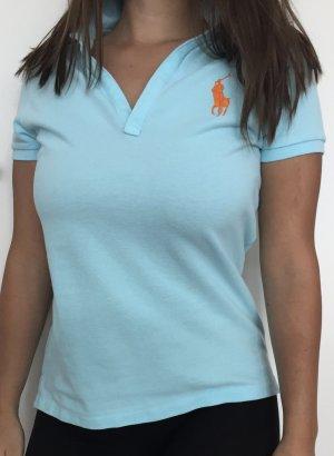 Hellblaues T-Shirt von Ralph Lauren