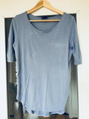 Hellblaues Vila Shirt