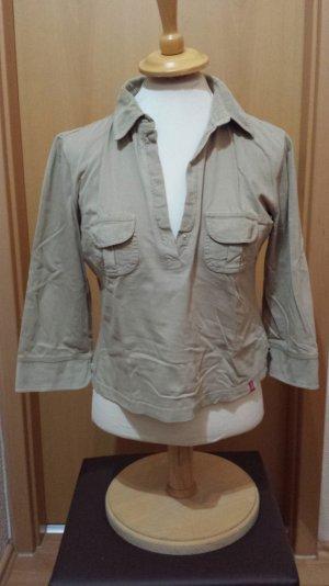 hellbraun 3/4 Arm Shirt von Esprit edc, Gr. M