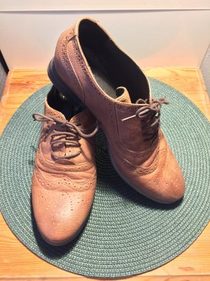 s.Oliver Wingtip Shoes multicolored leather