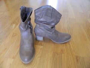 hellbraune Cowboy Stiefel mit 5cm Absatz