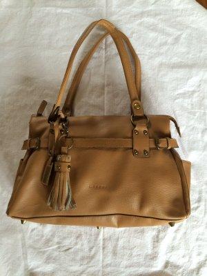 Hellbraune Handtasche von L.Credi