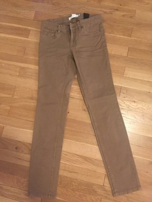 H&M Stretch jeans camel
