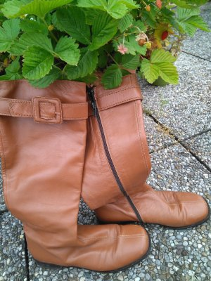 Donna Carolina Botas de equitación marrón claro
