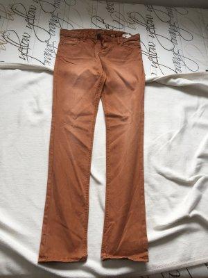 s.Oliver Pantalon pattes d'éléphant brun
