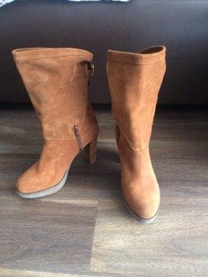 Hellbraune Stiefel von unisa