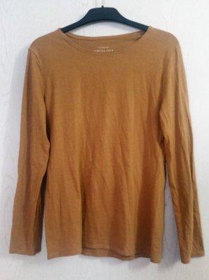 Hellbrauner dünner Pullover