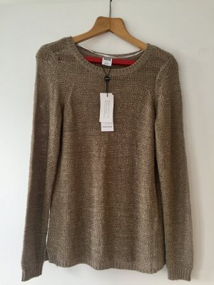 Vero Moda Coarse Knitted Sweater light brown