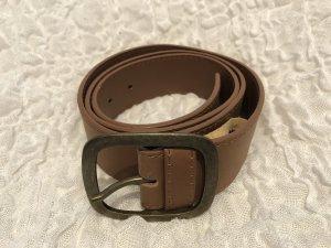 Faux Leather Belt camel imitation leather