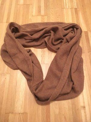 Hellbrauner Snood-Schal von H&M